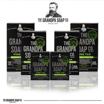 Grandpa's Soap 神奇爺爺 神奇妙松焦油大小朋友組(6件組)
