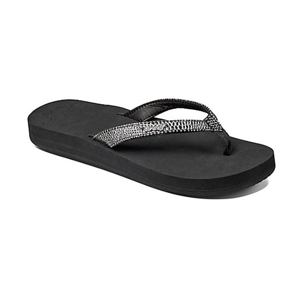 REEF 拖鞋 科技織帶輕量人體工學男款夾腳拖 灰 RF0A2T2DGIN