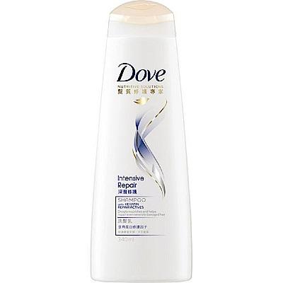 (1元加購)多芬 直順修護洗髮乳 340ml
