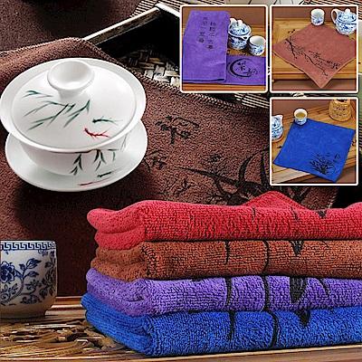 加厚超吸水超細纖維茶巾8條組
