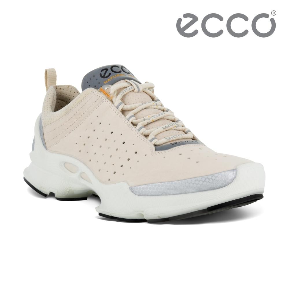ECCO BIOM C W 銷售冠軍自然律動健步鞋 女鞋-石灰白
