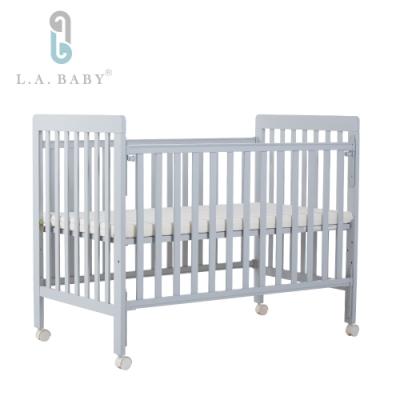 L.A. Baby 密西根三合一嬰兒大床(灰色)