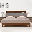 H&D 米蘭5尺床頭式床台