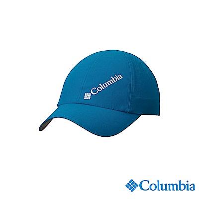 Columbia 哥倫比亞中性-UPF50防潑快排棒球帽-孔雀藍UCU01290PC