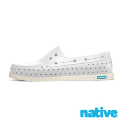 native HOWARD 男/女鞋-貝殼白x牛奶骨