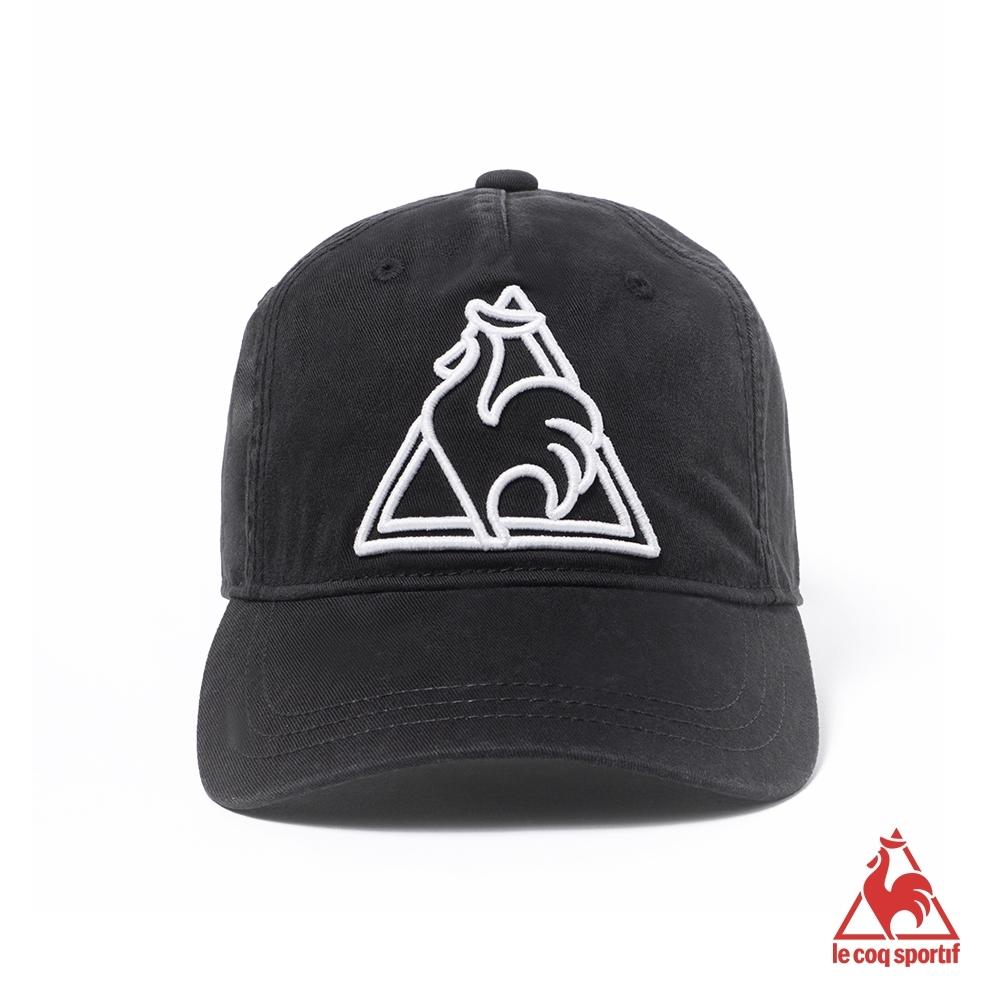 法國公雞牌鴨舌帽 LAJ0330199-黑