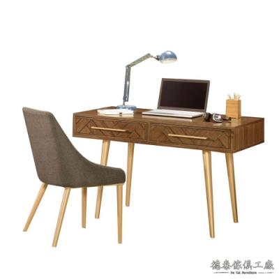 D&T 德泰傢俱 Pres 4尺書桌120*60*75.5cm
