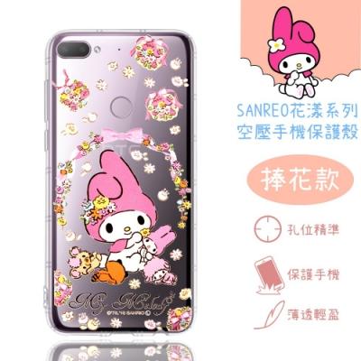 【美樂蒂】HTC Desire 12+ / 12 Plus 花漾系列 氣墊空壓 手機殼(捧花)