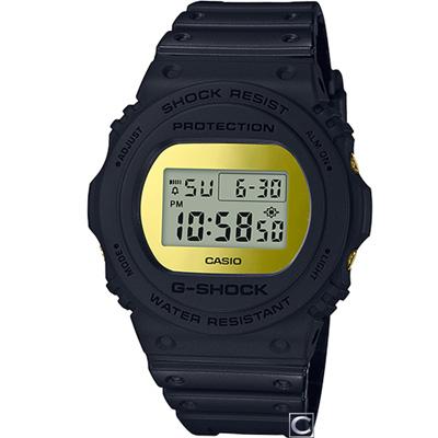 G-SHOCK  霧面磨砂設計運動錶(DW-5700BBMB-1)