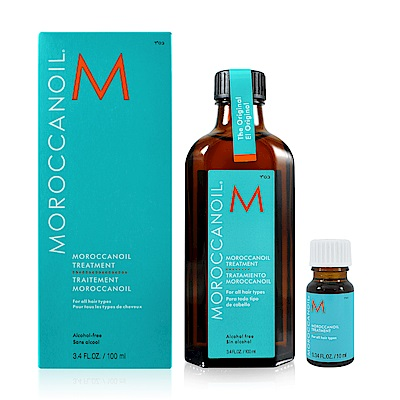 Moroccanoil 摩洛哥優油 護髮油 100ml+隨身瓶 10ml