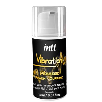 巴西Intt Vibration 跳跳糖感 爆跳式高潮液 17ml (蜜桃 可口交)