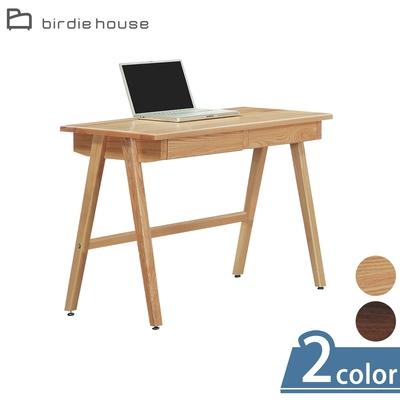 柏蒂家居-伊丹4尺簡約二抽書桌/工作桌(二色可選)-120x60x75cm