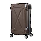 日本LEGEND WALKER 6304-72-29吋 防潑水拉鍊行李箱 消光棕