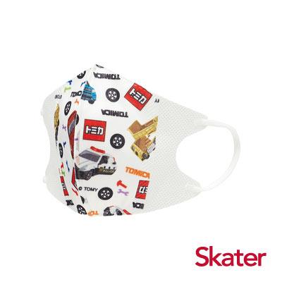 Skater兒童立體口罩-TOMICA(10入/包)共6包