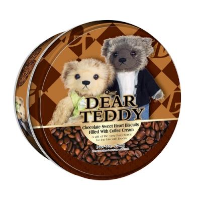 DEAR TEDDY親愛的泰迪 咖啡味夾心餅乾(150g)
