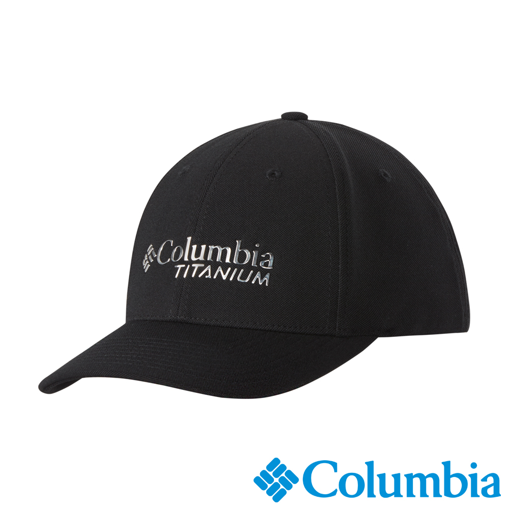 Columbia 哥倫比亞 鈦-防曬50棒球帽-黑色UCU92290BK
