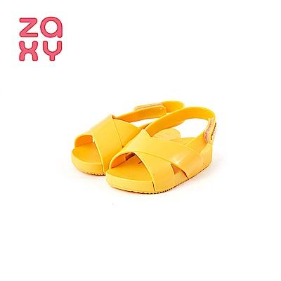 ZAXY NINA BRILHA SLIDE系列交叉涼鞋(寶寶鞋)-黃