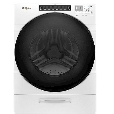 Whirlpool惠而浦 17KG 17公斤 8TWFW6620HW  Load & Go 蒸氣洗滾筒洗衣機