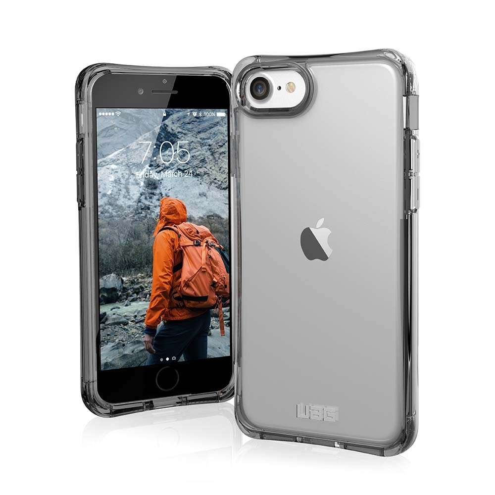 UAG iPhone 8/SE 4.7吋耐衝擊全透保護殼-透明