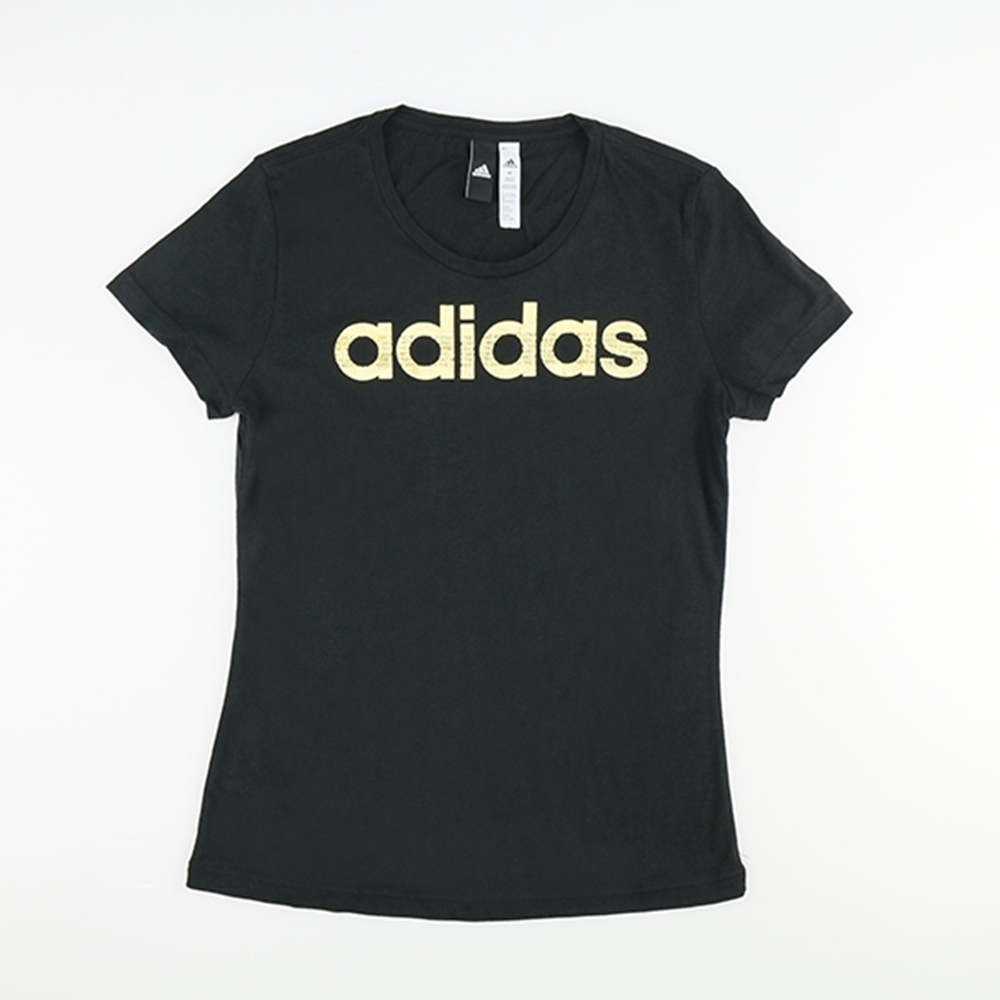 ADIDAS -女短袖上衣-CV4566-黑