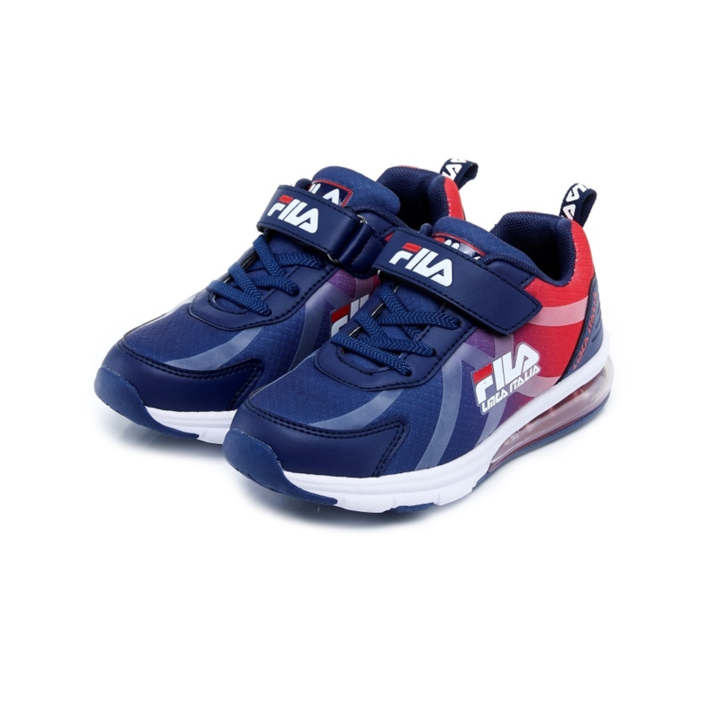 FILA KIDS 大童MD氣墊慢跑鞋-藍 3-J808U-321