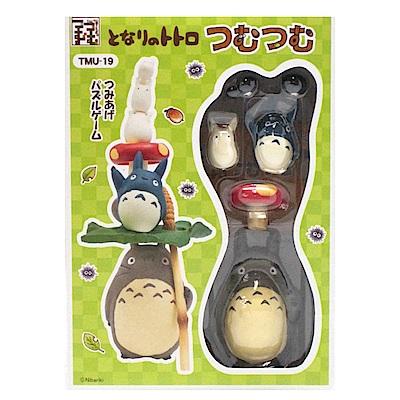 日版TMU-19 龍貓疊疊樂平衡遊戲組 玩具