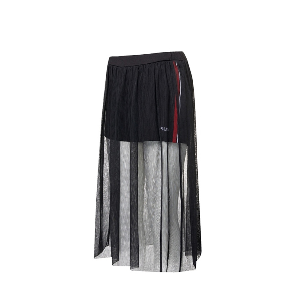 FILA 女裙褲-黑色 5SKV-1720-BK