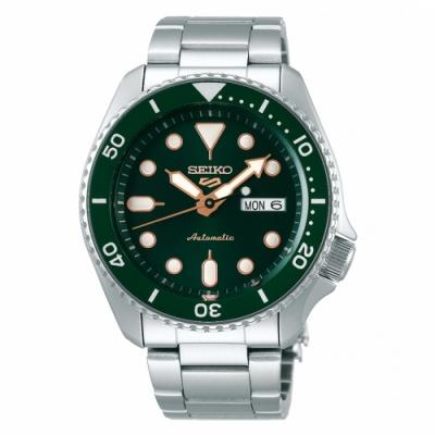 SEIKO 5 sport運動潮流機械腕錶/綠面4R36-07G0G(SRPD63K1)