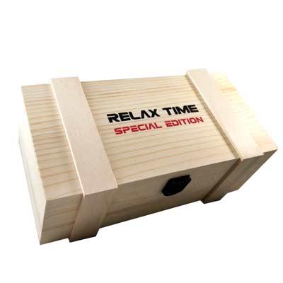 RELAX TIME 木製手錶收納盒(3入)