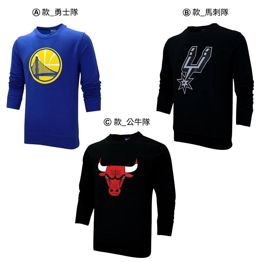 [時時樂限定]NBA 長袖圓領T恤 (三款任選)