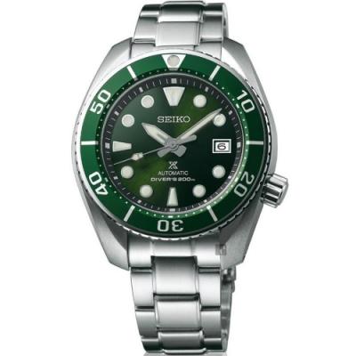 SEIKO 精工 PROSPEX 200米潛水機械錶(SPB103J1)-綠水鬼/45mm