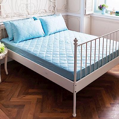 La Lune 軒S物語炫彩防汙防潑水鋪棉加厚雙人床包式保潔墊 多色可選
