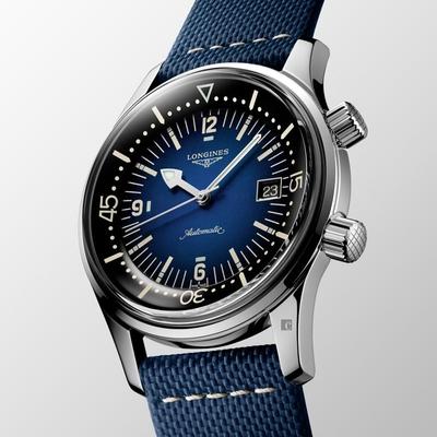 LONGINES 浪琴 Legend Diver 5年保固 深海潛將復刻版潛水錶-42mm L37744902
