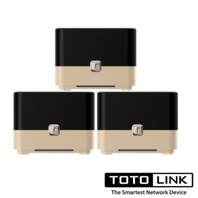 福利品-TOTOLINK AC1200 Mesh WiFi無線網路系統 T10(九成九新品)