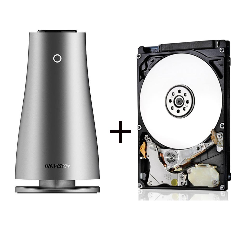 海康 H100 1G 2Bay 網路儲存伺服器+HGST 1TB 2.5吋 內接式硬碟