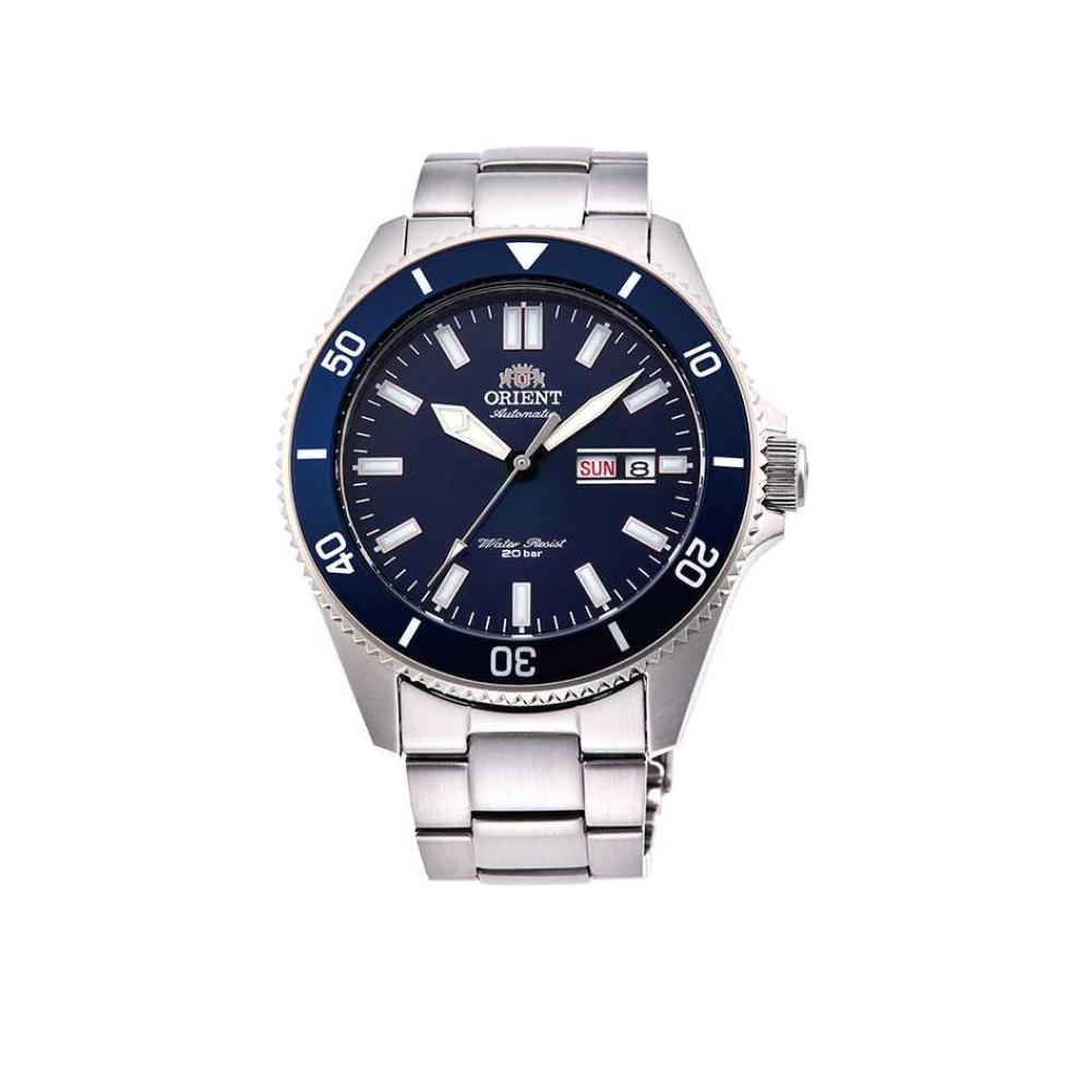 ORIENT 東方錶 深海潛龍機械錶(RA-AA0009L)藍水鬼/44mm