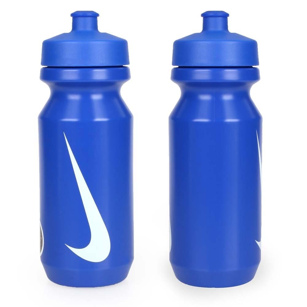 NIKE 大嘴巴水壺2.0-22OZ-慢跑 路跑 自行車 單車 運動水壺 藍白