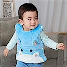 baby童衣 水晶絨動物臉譜夾棉保暖背心 82045