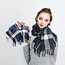 日本COGIT 2way造型牛角扣披肩圍巾
