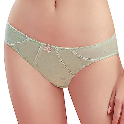 思薇爾 棒棒糖輕甜風系列M-XL低腰三角內褲(水沐綠)