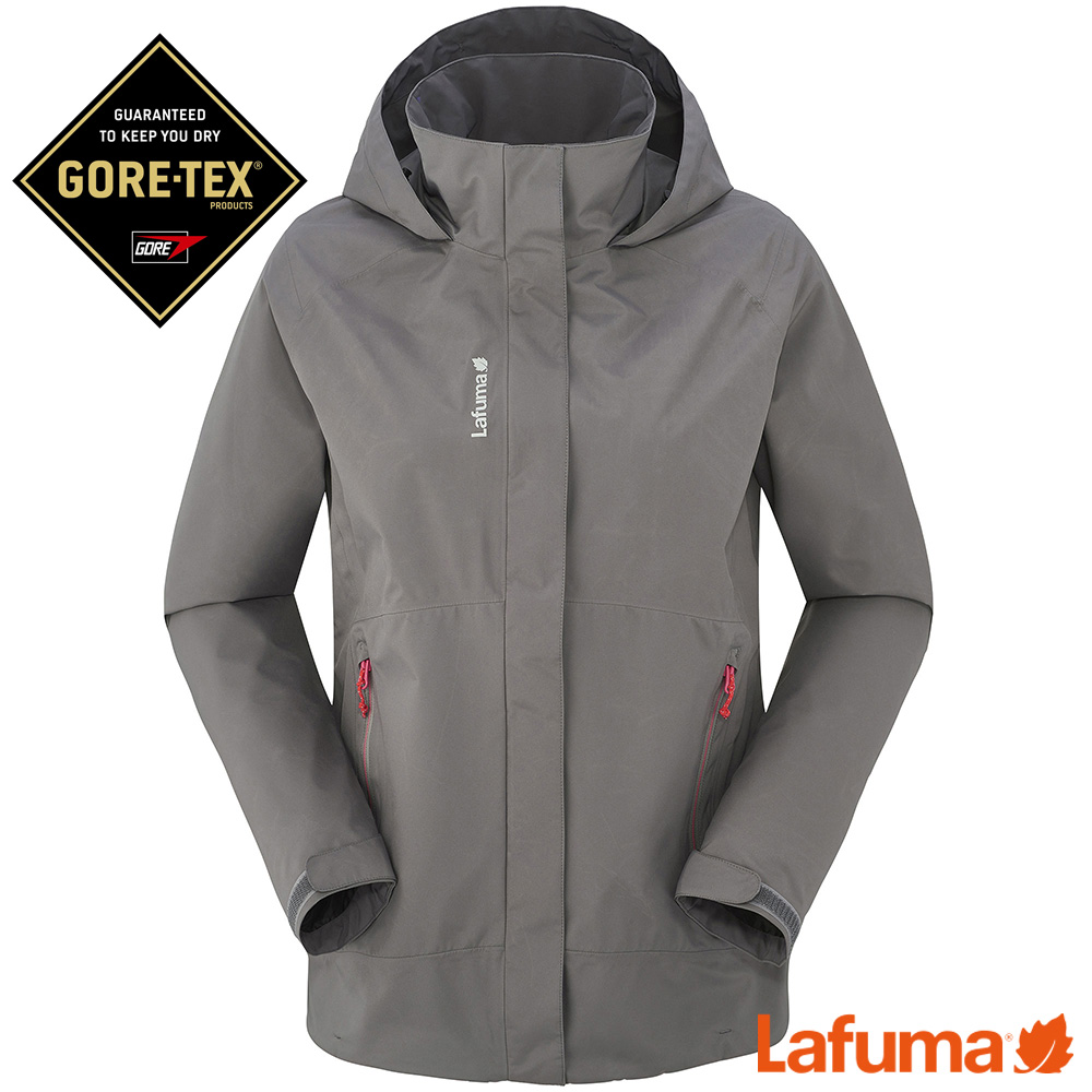 LAFUMA-女WAY GTX 防水外套-LFV113318280-炭灰