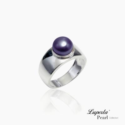 大東山珠寶 純銀天然珍珠戒指 銀色年華 星空特別色