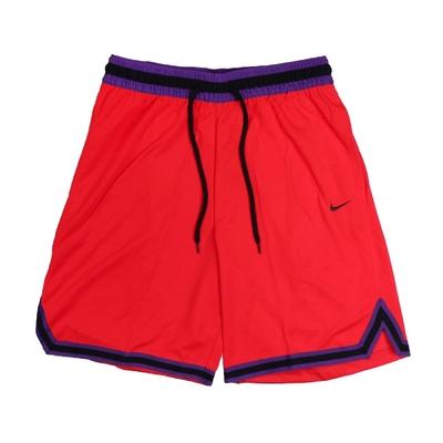 Nike 短褲 Basketball Shorts 男款 Dri-FIT 吸濕排汗 輕量 通風 抽繩 紅黑 DA5845-673