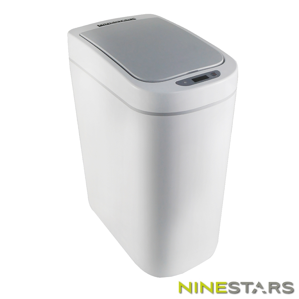 [時時樂限定]美國NINESTARS防水感應垃圾桶DZT-7-2S