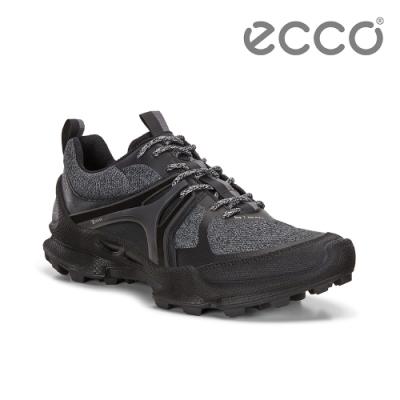ECCO BIOM C-TRAIL W 縱橫越野健步運動鞋 女-黑/灰