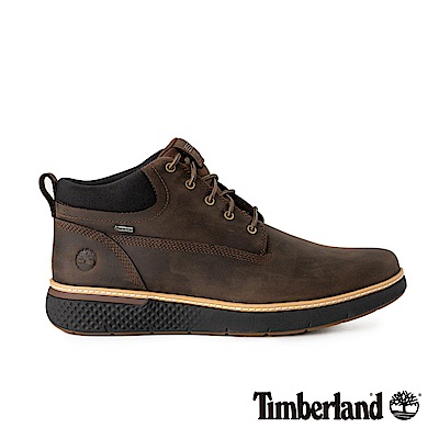 Timberland 男款深咖啡色全粒面皮革鞋 | A1TQL931