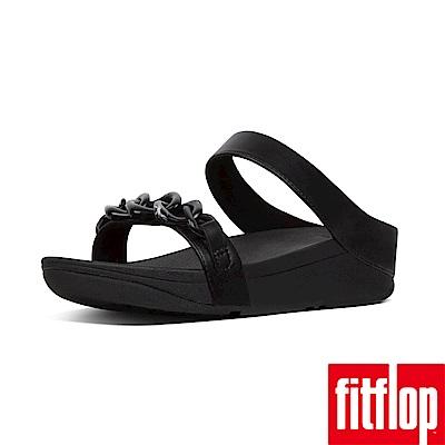 FitFlop FINO 雙帶涼鞋黑色