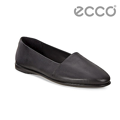 ECCO INCISE ENCHANT 超柔軟牛皮兩穿懶人鞋 女-黑