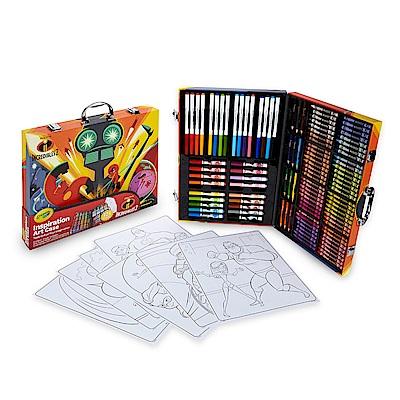 美國crayola 繪兒樂 超人特攻隊2大藝術家套裝(5Y)