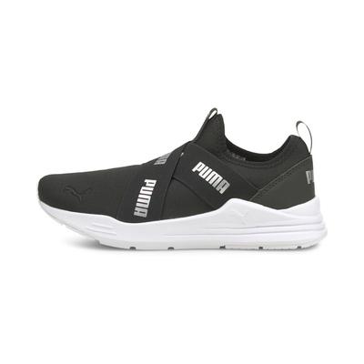 PUMA Wired Run Slipon Wmns 交叉 懶人鞋 女休閒鞋-黑-38229901